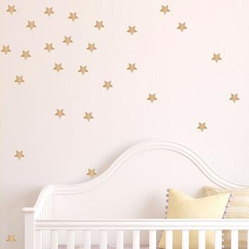 Star Wall Decals - Set of 100