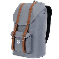 Little America Backpack in Grey by Herschel Supply Co.