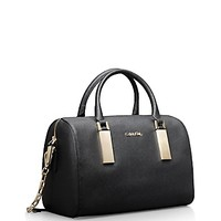 scarlett sleek barrel satchel | Calvin Klein