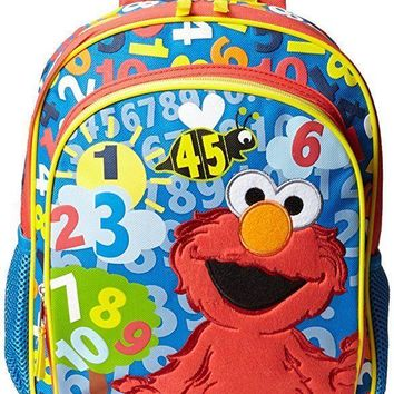 Accessory Innovations Little Boys' Elmo Count with Me 12 Inch Small Backpack