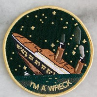 I'm A Wreck Iron-On Patch