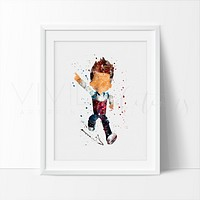 Ryder, Paw Patrol Watercolor Art Print