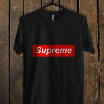Supreme Logo T Shirt Mens T Shirt and Womens T Shirt **