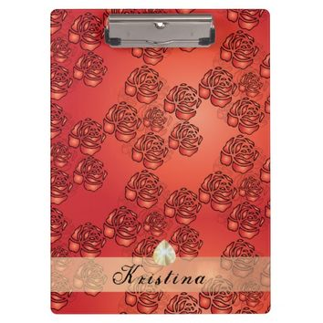 Rose Blossoms Clipboard