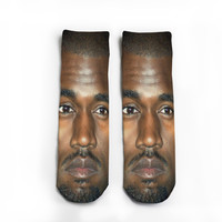 Kanye and Kanye Pop Socks