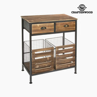 Industrial style cabinet by Craftenwood