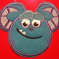 Disney Pixar Monster Inc Sully Applique Patch