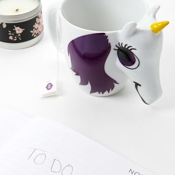 Thumbs Up Changing Unicorn Mug