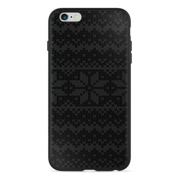 Holiday Edition Elegant Snowflake Sweater PlayProof Case for iPhone 6 / 6s