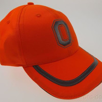 OSU Ohio State University Buckeyes Hunting Cap Fluorescent Orange Outdoor Sports