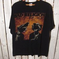 Bad Religion, Recipe for Hate T-Shirt, Size XL. 1993
