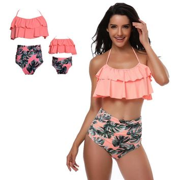 Mother and Daughter  Swimsuits 3 different color options