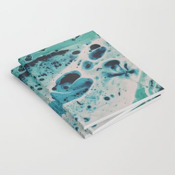 Seafoam Notebook by duckyb