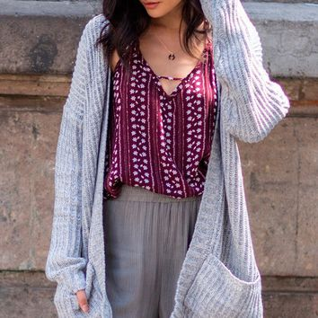 Nessa Open Cardigan | Threadsence