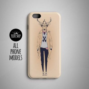 Deer Fashion iPhone 8,7, X, 6, 7 Plus, 6 Plus, 8 Plus Cases