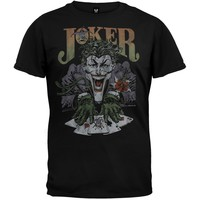 Batman - Joker's Cards Soft T-Shirt