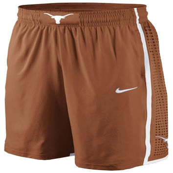 Nike Texas Longhorns Burnt Orange Authentic 2012-2013 On-Court Basketball Shorts - http://www.shareasale.com/m-pr.cfm?merchantID=42812&userID=1042934&productID=534107818 / Texas Longhorns