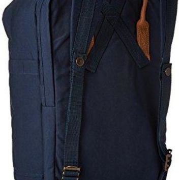 "Fjallraven - Kanken No. 2 Laptop 15"" Bag, Heritage and Responsibility Since 1960, Navy"