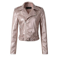 Bubble Gum Pink! Vegan Leather Jackets, All Colors & Sizes