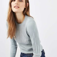 Varied Rib Knitted Top