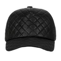 QUILTED BASEBALL HAT