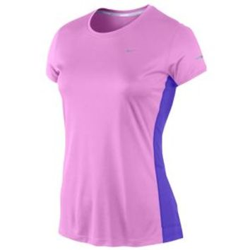 Nike Dri-FIT Miler Short Sleeve Crew Top - Women's at Lady Foot Locker