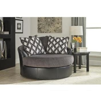 Kumasi Oversized Swivel Accent Chair