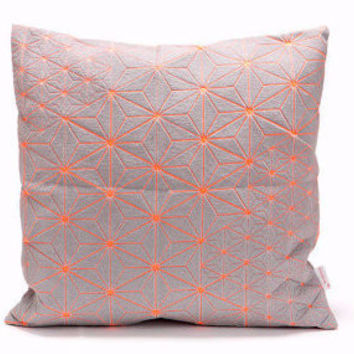 Geometric Neon PIllow