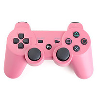 [NewYearSale]Rechargeable USB Wireless Controller for PS3 (Pink) - Default