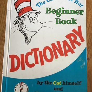 The Cat in the Hat Beginner Book Dictionary (I Can Read  Beginner Books) by P D Eastman (1964