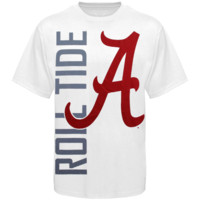 Alabama Crimson Tide Go Large T-Shirt - White