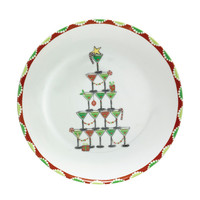 Martini Holiday Plate