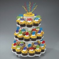 Sweet Service Cupcake Stand:Amazon:Kitchen & Dining