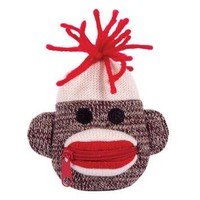 Sock Monkey Coin Purse by Schylling - Whimsical & Unique Gift Ideas for the Coolest Gift Givers