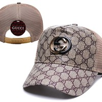 Brown Classic Womens Mens GG Hat Gucci Baseball Cap Gift