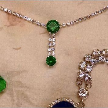 TITANIC - Rose's Jump Dress Edwardian Style Necklace Choker and Earrings - Jewelry Collection