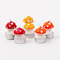 Speckled Mushroom Tealights - Set of 6