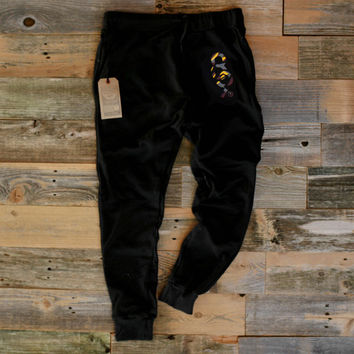 Bordeaux 7 Keys Sweat Pants