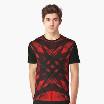 'Hypnotzd Abstract Architecture 94' Graphic T-Shirt by hypnotzd