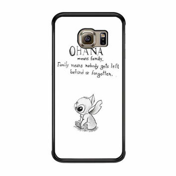 vintage lilo and stitch ohana means family samsung galaxy s7 s7 edge s3 s4 s5 s6 cases