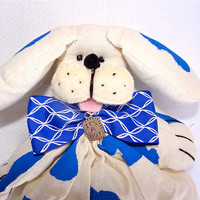 Dog on a stick. Centerpiece, Favor, Doll or Puppet. Kids Party, Baby shower, Baptism, Dog party