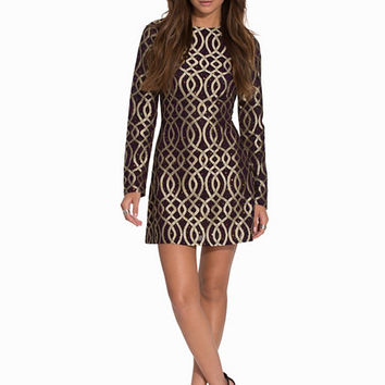 Golden Chain Dress, NLY Trend