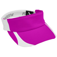 Augusta 6307 Flexfit Contender Visor - Power Pink White