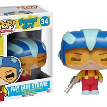 POP Vinyl-Pop Vinyl Family Guy Ray Gun Stewie  (UK IMPORT)  GAME NEW