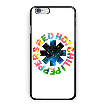 Red Hot Chili Peppers Colorfull iPhone 6 Plus Case