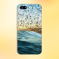 Diamond Sky x California Beach Waves Phone Case for iPhone 6 6 Plus iPhone 5 5s 5c 4 4s Samsung Galaxy s6 s5 s4 & s3 and Note 5 4 3 2