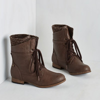 Rustic Dancing on Layer Boot