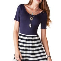Fayetteville Striped Dress