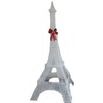 Home Accents Holiday, 86 in. 120-Light LED Thin PVC Eiffel Tower, TY307-1411-1 at The Home Depot - Mobile