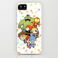 Babie Avengers iPhone & iPod Case by aken | Society6